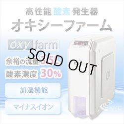 画像1: 人気NO1!高濃度酸素発生器 オキシーファーム 卓上型【酸素濃度30%・流量3.5L/分】マイナスイオン発生機能付き