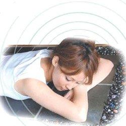 画像1: 【展示・未使用】デトックスラジウム岩盤浴ベッド〜宝石タイプ〜