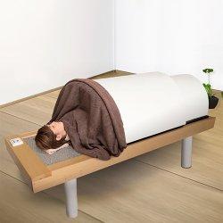画像1: 日本製・岩盤浴ベッドセット(岩盤浴ベッド+遠赤外線ドームサウナ)100V 自宅で本格的な岩盤浴を満喫して頂けます!