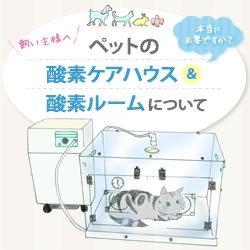 画像1: ペットの酸素ケアハウス・酸素ルームについて