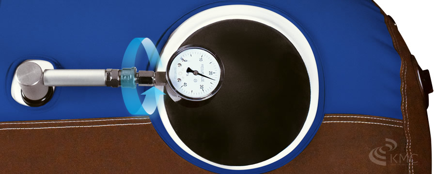 回転式高精度気圧計