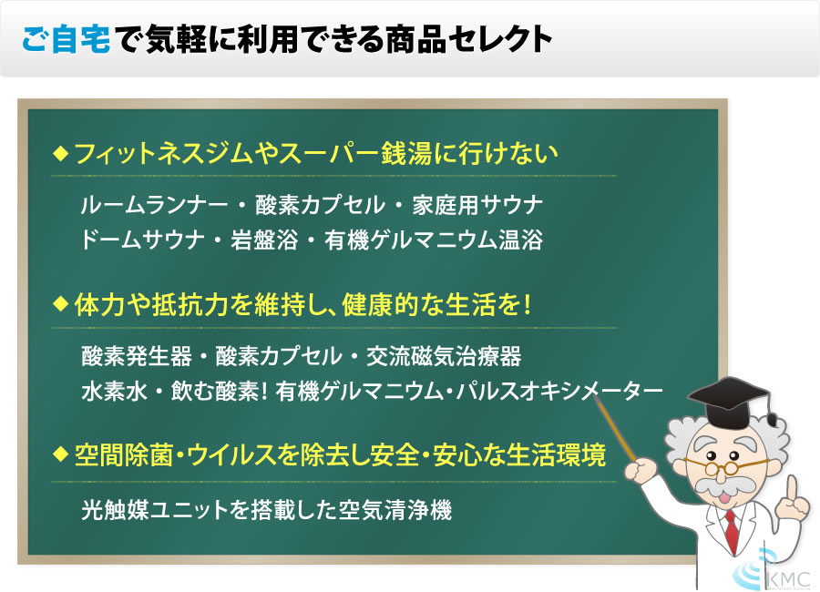 ご自宅で新型肺炎・コロナウィルス予防・対策できる商品