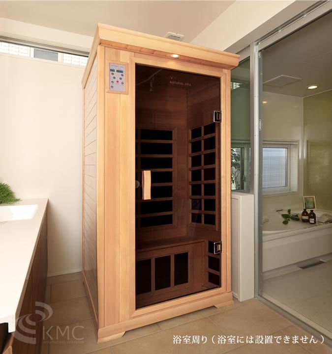 サウナ設置イメージ:浴室周り